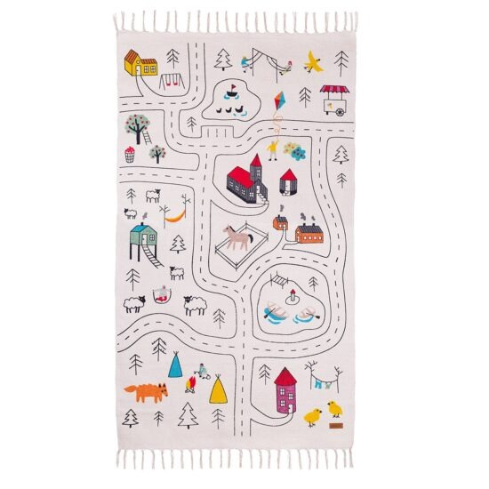Adventure play rug mat