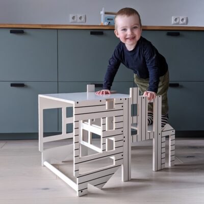 Helper tower table