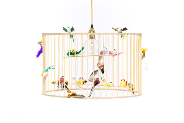 Large Birdcage Pendant Light Chandelier