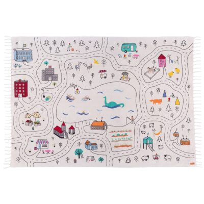 Car RUG PLAY RUG PLAY MAT NURSERY RUG BABY PLAY MAT