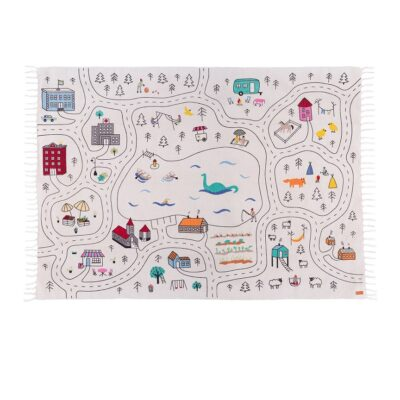 PLAY RUG play mat car rug city rug lakaluk