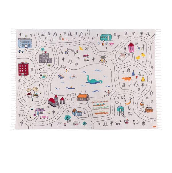 PLAY RUG play mat car rug city rug lakaluk