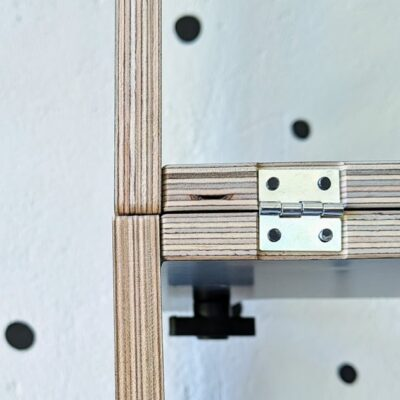 Learning tower hinges